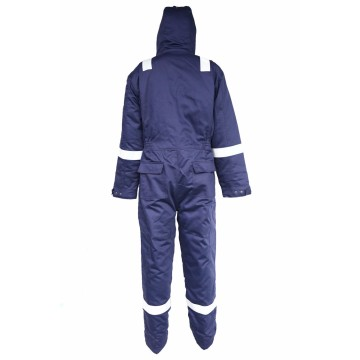 Winter FR water oil resistant antistatic coverall