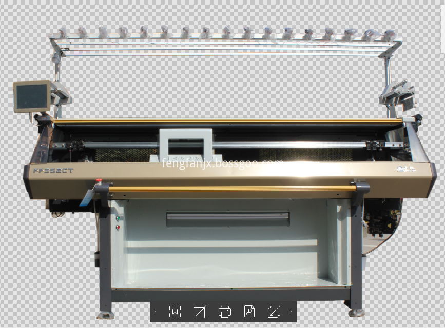 Computerized Vamp jacquard  Knitting Machine For Shoes