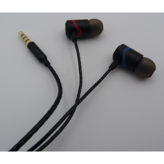 in-Ear Headphones with Pure Sound and Powerful Bass
