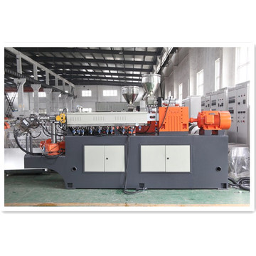 Twin screw extruding pelletizing machine