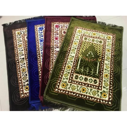100% polyester good quality printed mink islamic rugs