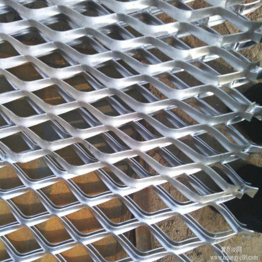 Plastic Coated Expanded Metal Mesh For Decoration