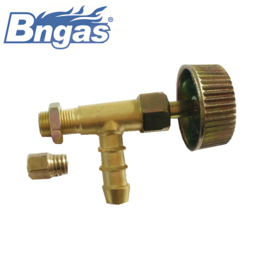 Gas stove control valve for cooking