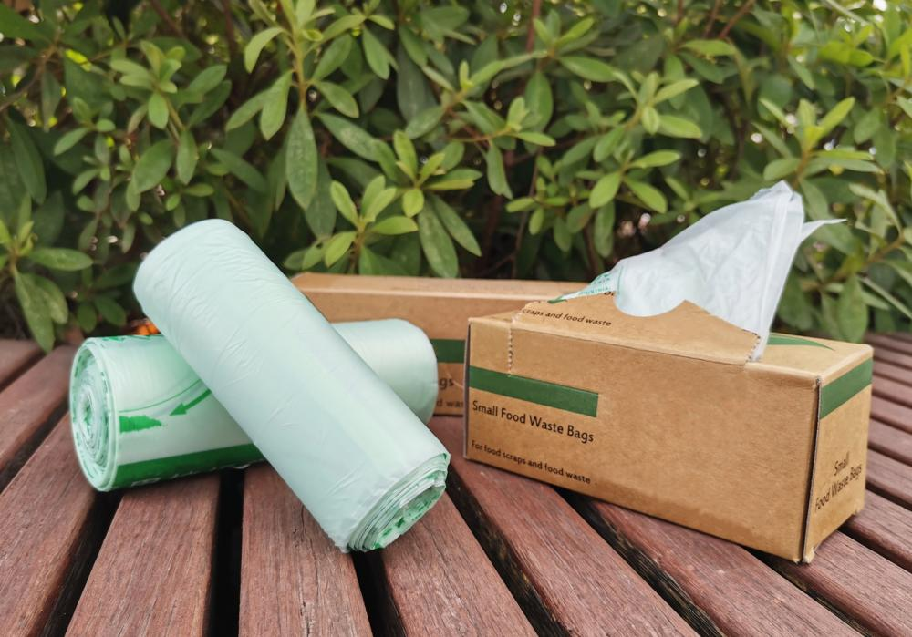 PLA Compostable Disposable Kitchen Trash Bags