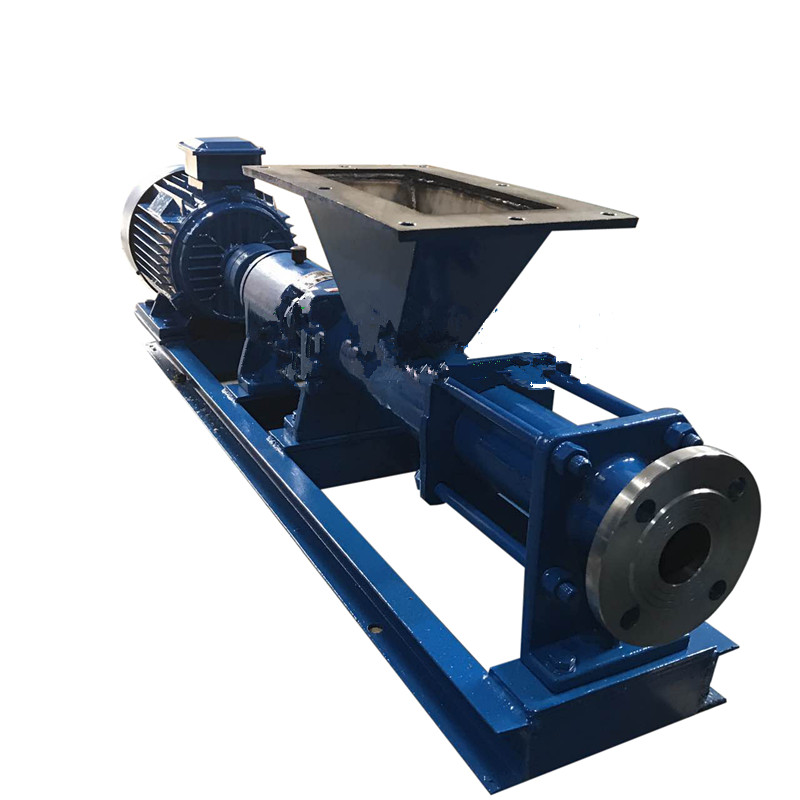 Explosion-proof single screw pump G type single screw pump (shaft stainless steel) corrosion-resistant single screw pump 3