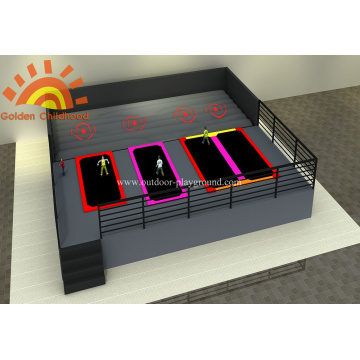 Children's Large Safety Airbag Trampoline Park
