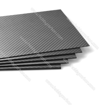 3K Woven Pure Carbon Fiber Sheet for Multi-rotors