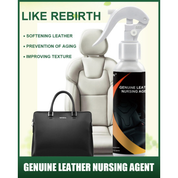 Home Leather Sofa and Car Seat Nursing Agent