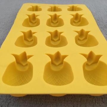 Pineapple shape multifunctional silicone ice box cake molds