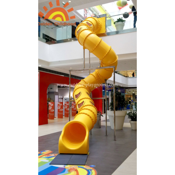 Large Playground Spiral Backyard Tube Slide for sale