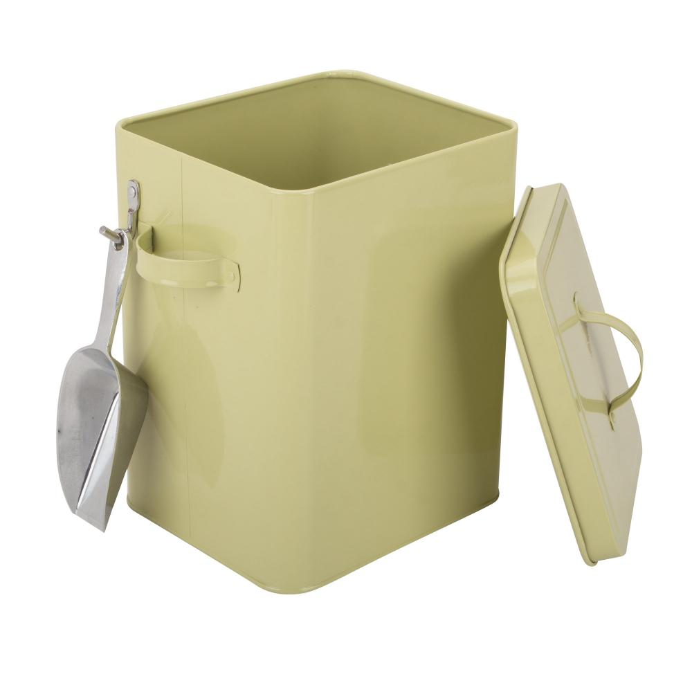Metal Laundry Box with Scoop