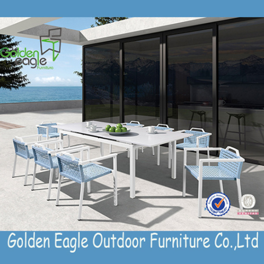 Hot Selling Outdoor Aluminium Frame Polywood Furniture