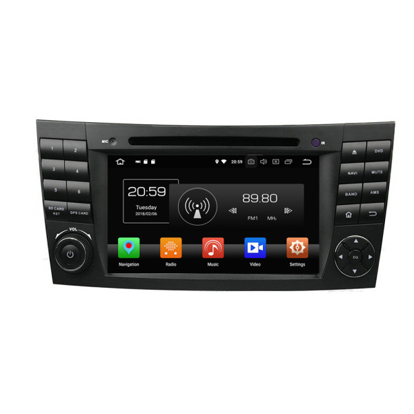 oem car multimedia player for E-Class W211 2002-2008