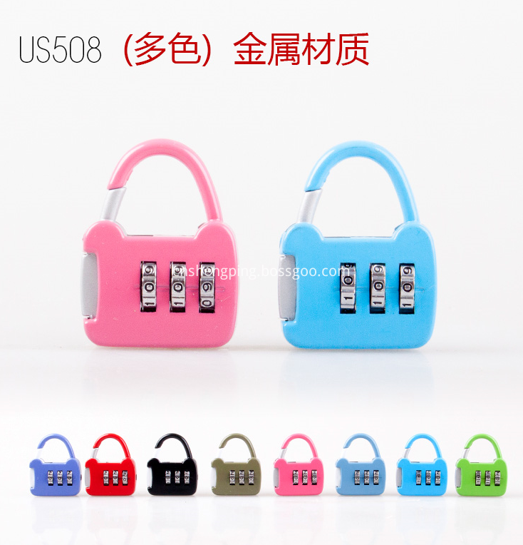 Mini Travel Luggage Lock