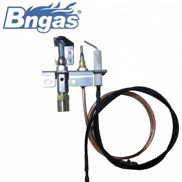 ODS pilot burner assembly gas heater
