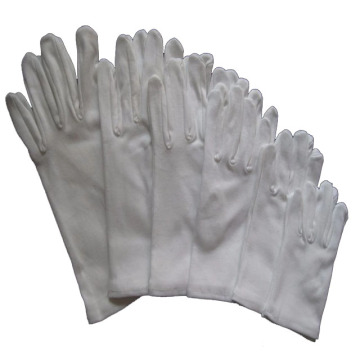 100% Work Anti-Slip Cotton Rubber Polka DOT Gloves