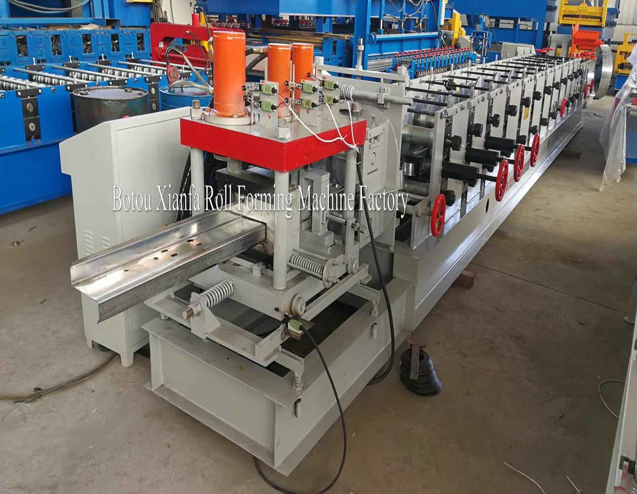 z purlin bending machine