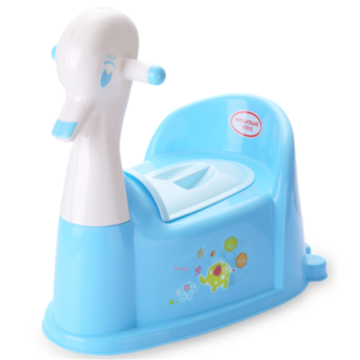 Duck Shape Plastic Baby Toilet Trainer With Music