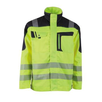 Men's Reflective Safety Jacket with En20471 Hi Vis