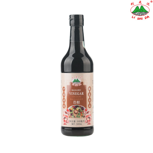 500ml Glass Bottle Balsamic Vinegar
