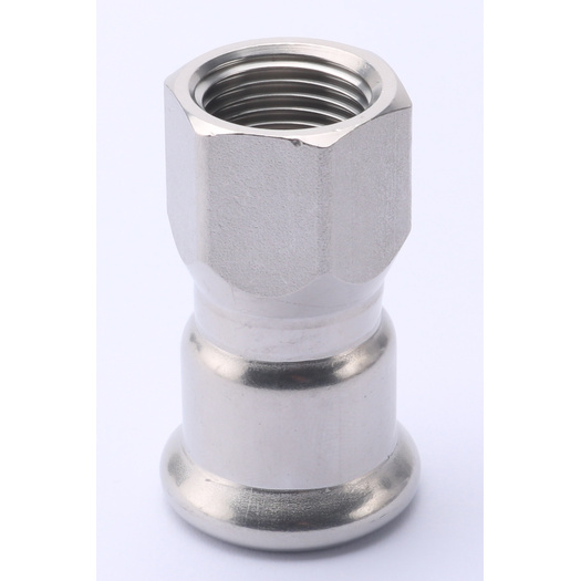Stainless Steel Thread Coupling Pipe Fittings Dimension