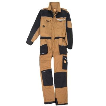 Classic European Elasticated Waistband Work Overalls
