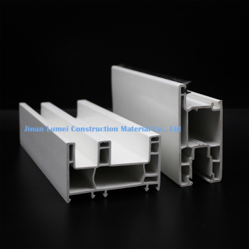 Plastic UPVC Window Material Profiles