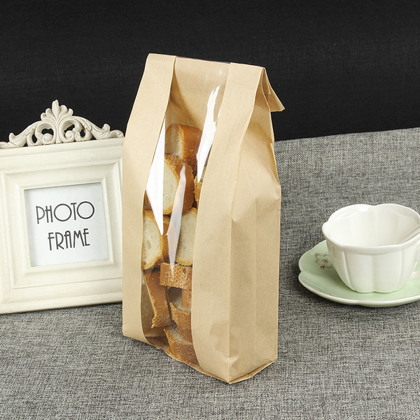 PLA environmental  kraft paper bag