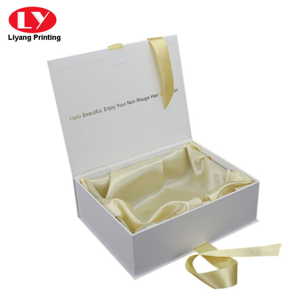 magnet gift box with magnet closure