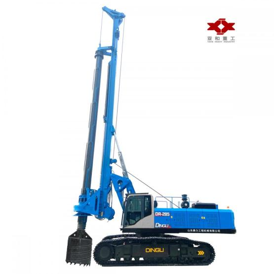 Rotary drilling rig with a torque of 285kN