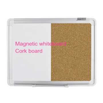 Best selling office combination white and cork board