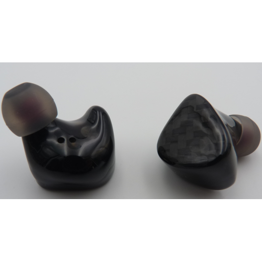 Dual Drivers TWS Wireless Earbuds with Resin Housing