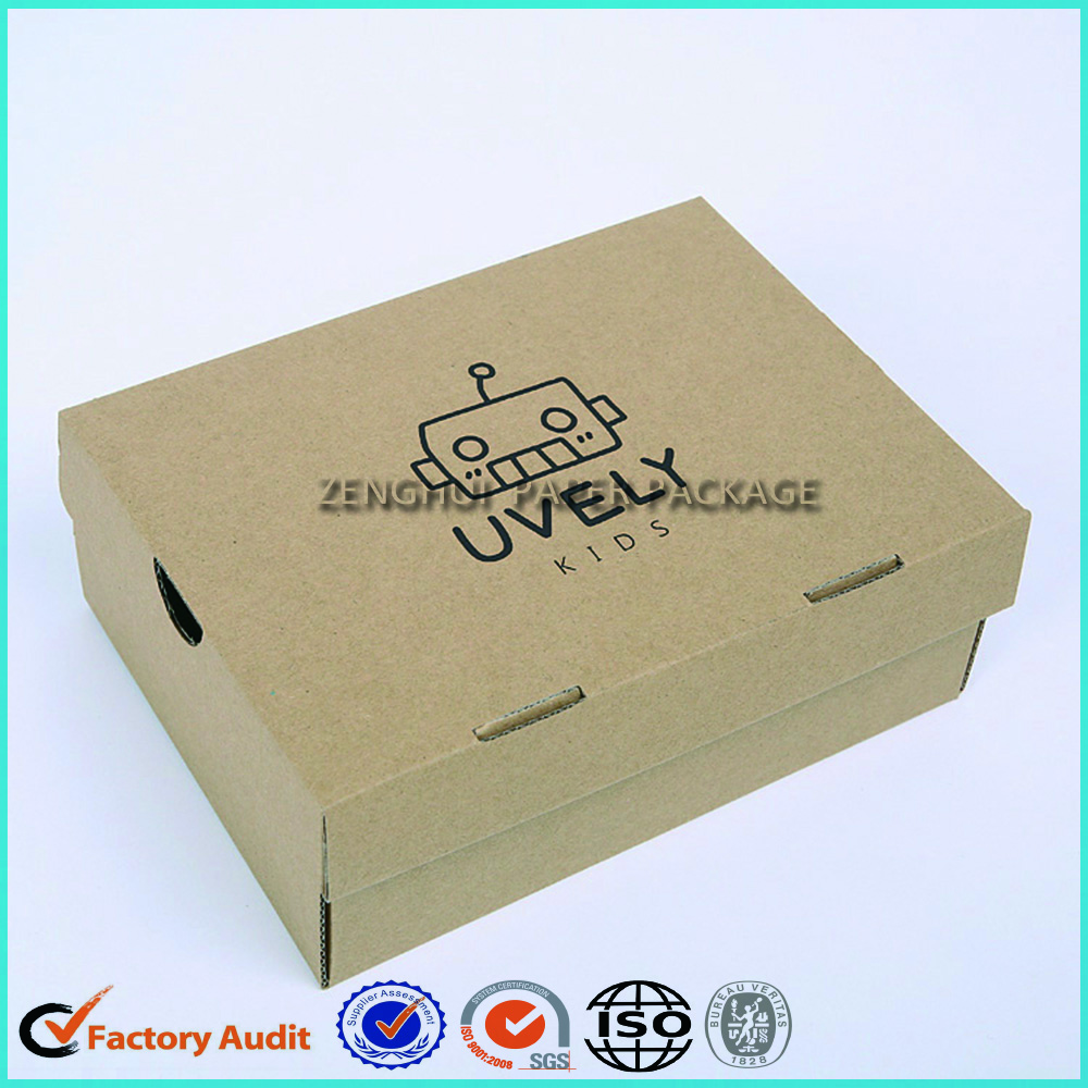Wholesale Custom Drop Front Shoe Box