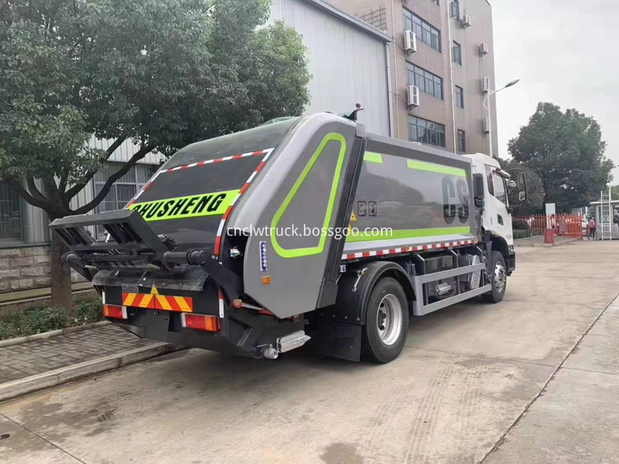 general waste truck specification