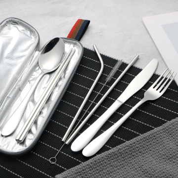 Eco Friendly Reusable Travel Cutlery Set Case