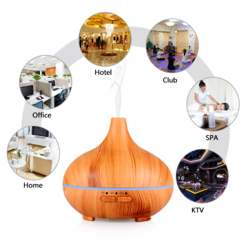 5v 80ml Wood Grain Portable Mini Usb Humidifier