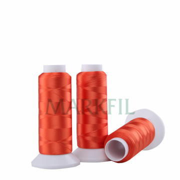 Yarn Dyed 100% Viscose Rayon Embroidery Thread