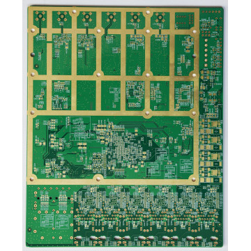 Medical device screen circuit board