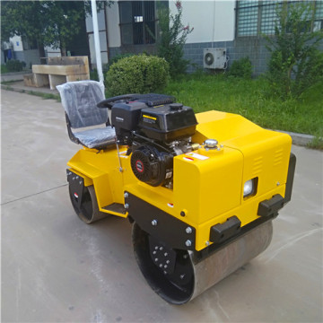mini ride on road roller  compactor