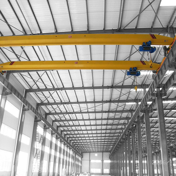 220v 2ton single girder overhead crane for sale