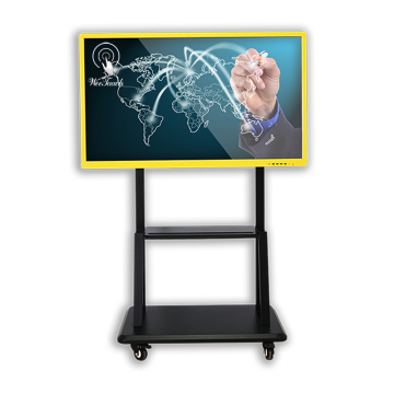 55 inches interactive smart panel with mobile stand