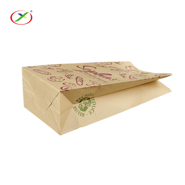 Food Bread Paper Bag With Logo
