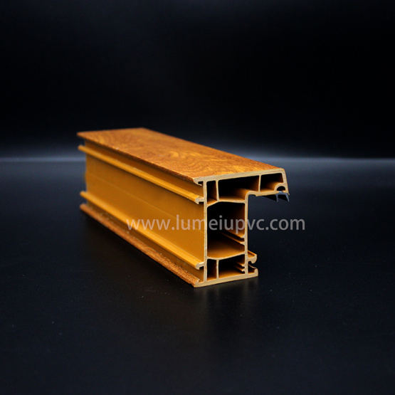 Laminated Coated Upvc Profiles for window