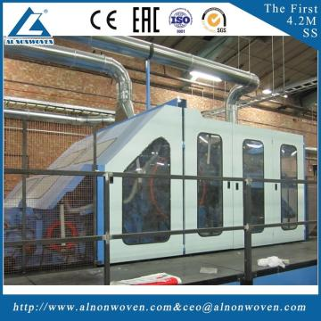 highly stable ALSL-2000 textile carding machine nonwoven carding machine