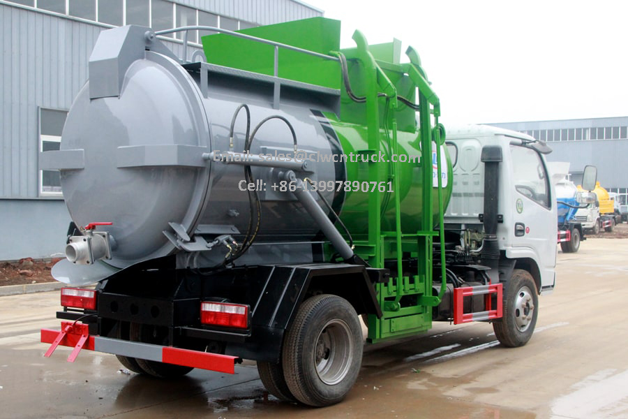 Liquid Waste Truck Images