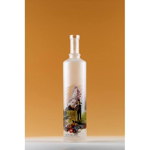 500ml Narrow Mouth Screen Printing Vodka Bottle Wholesale