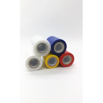 Colorful bundling stretch wrap film roll