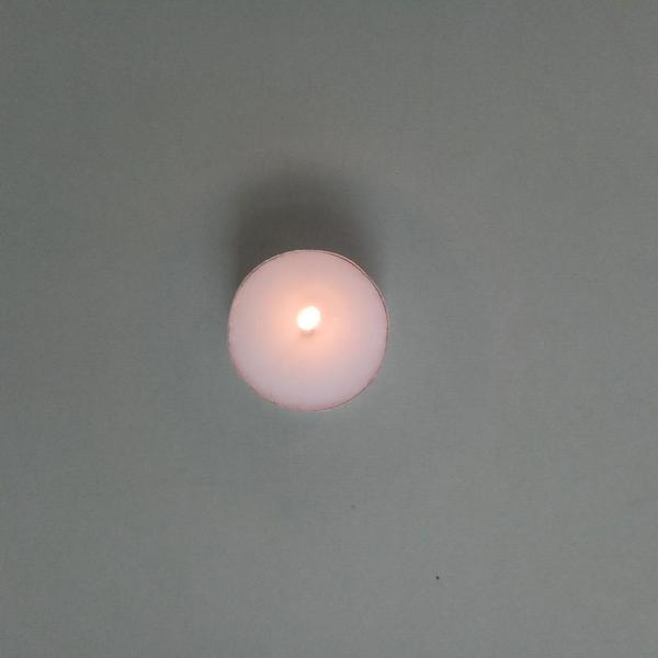 12gram wax material produce white tealight candle