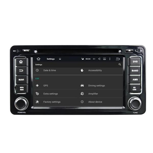 car video dvd player for Mitsubishi outlander