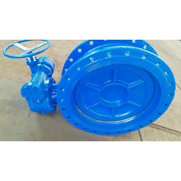 Double Eccentric DI flanged Butterfly Valve